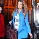 Blake Lively Steps Out In NYC (December 4, 2014)