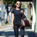 Rachael Leigh Cook in Spandex – Heading to a gym in Studio City - 454 x 681