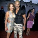 Shemar Moore and Sharlene Royer