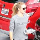 Rosie Huntington Whiteley Leaving The Gym In West Hollywood