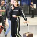 Olivia Culpo – Arrives at LAX in Los Angeles
