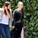 Amanda Seyfried – Heading to a friends house in Beverly Hills - 454 x 681