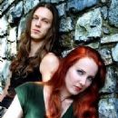 Simone Simons and Mark Jansen