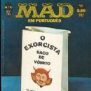 The Exorcist - MAD Magazine Cover [Brazil] (December 1974)