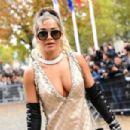 Rita Ora – Miu Miu Womenswear S/S 2020 Fashion Show at Paris Fashion Week