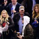 Ashley Benson – Boston Bruins v New York Rangers game in New York