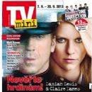 Damian Lewis, Claire Danes - TV Mini Magazine Cover [Czech Republic] (4 September 2013)