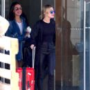 Hailey Baldwin – Spotted catching an early morning flight in NYC - 454 x 604