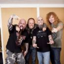 Scott Ian, Kerry King, Lars Ulrich & Dave Mustaine