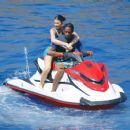 Kylie Jenner and Travis Scott – Spotted on a jet ski in Positano in Italy