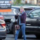 Emma Roberts – In denim stepping out in Los Angeles
