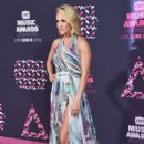 Carrie Underwood attends the 2016 CMT Music awards at the Bridgestone Arena on June 8, 2016 in Nashville, Tennessee