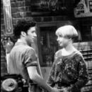 Lecy Goranson and Glenn Quinn
