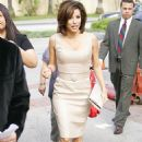 Eva Longoria - Arrives At The AT&T Wireless Store In Burbank To Promote Her Charity (Feb 28 2009)