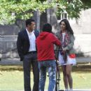 Salman and Katrina shoot for EK Tha Tiger at Trinity college *Updated*