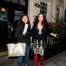 Anna Friel - Leaving The The Theatre Royal Haymarket In London - December 22, 2009