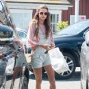 Alessandra Ambrosio At Country Market In Brentwood