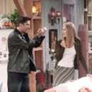 David Schwimmer and Jennifer Aniston