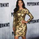 Claudia Jordan – 'Peppermint' Premiere in Los Angeles - 454 x 726