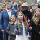 The Dutch Royal Family Attend King's Day - 454 x 303