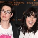 Sue Perkins and Anna Richardson attending the Royal Television Society Programme Awards at the Grosvenor House Hotel, London., UK, 18th March 2014