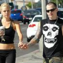Sophie Monk and Benji Madden - 454 x 311