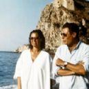 Marcello Mastroianni and Anna maria Tatò