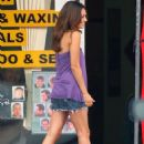 "Mila Kunis - Showing Legs On The Set Of ""Extract"" In Los Angeles, 12.09.2008."