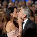 George Clooney and Amal Alamuddin : American Film Institute's 46th Life Achievement Award Gala Tribute - 444 x 600