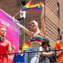 Victoria Justice – 2018 Gay Pride Parade in New York City
