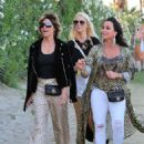 Lisa Rinna and Kyle Richards – 2018 Coachella Festival in Indio - 454 x 580