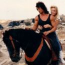 Maria Giovanna Elmi and Sylvester Stallone