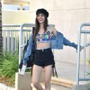 Victoria Justice in Shorts – Out in Los Angeles
