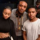 Blac Chyna and Justin Combs at Playhouse Nightclub in Los Angeles, California - June 11, 2015