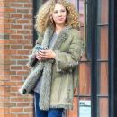 Juno Temple is seen leaving The Bowery Hotel in New York City, New York on March 31, 2016 - 386 x 600