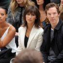 Benedict Cumberbatch-September 21, 2015-Burberry Womenswear Spring/Summer 2016 - Front Row & Runway - 454 x 317