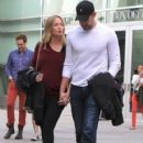 Emily Blunt and husband John Krasinski out for a movie date at the Arclight Cinemas in Hollywood, California on January 4, 2014 - 421 x 594