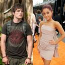 Josh Hutcherson and Ariana Grande