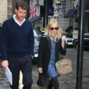 Kate Bosworth - candids hotel and restaurant London, February 23, 2011