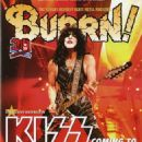 Paul Stanley - Burrn! Magazine Cover [Japan] (March 2015)