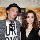 Lily Collins and Jamie Campbell Bower at