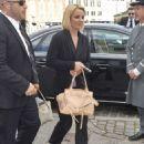 Britney Spears Arriving In Denmark