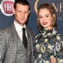 Lily James and Matt Smith - 454 x 733