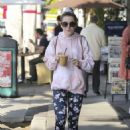 Kiernan Shipka – Out for coffee in Los Angeles