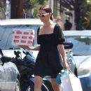 Ashley Tisdale – Spotted at her local post office in Los Feliz