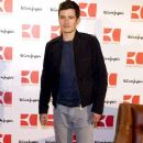 """Orlando Bloom presents the new """"Orange Boss Man"""" fragrance at El Corte Ingles store on March 16, 2011 in Madrid, Spain."""