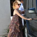 Leslie Mann Out In Brentwood