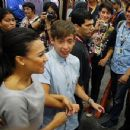 Naya Rivera and Kevin McHale - 454 x 349