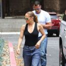 Jennifer Lopez – Shopping with Alex Rodriguez in Los Angeles