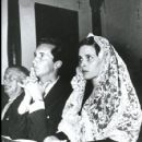 Lucia Bose and Luis miguel Dominguin